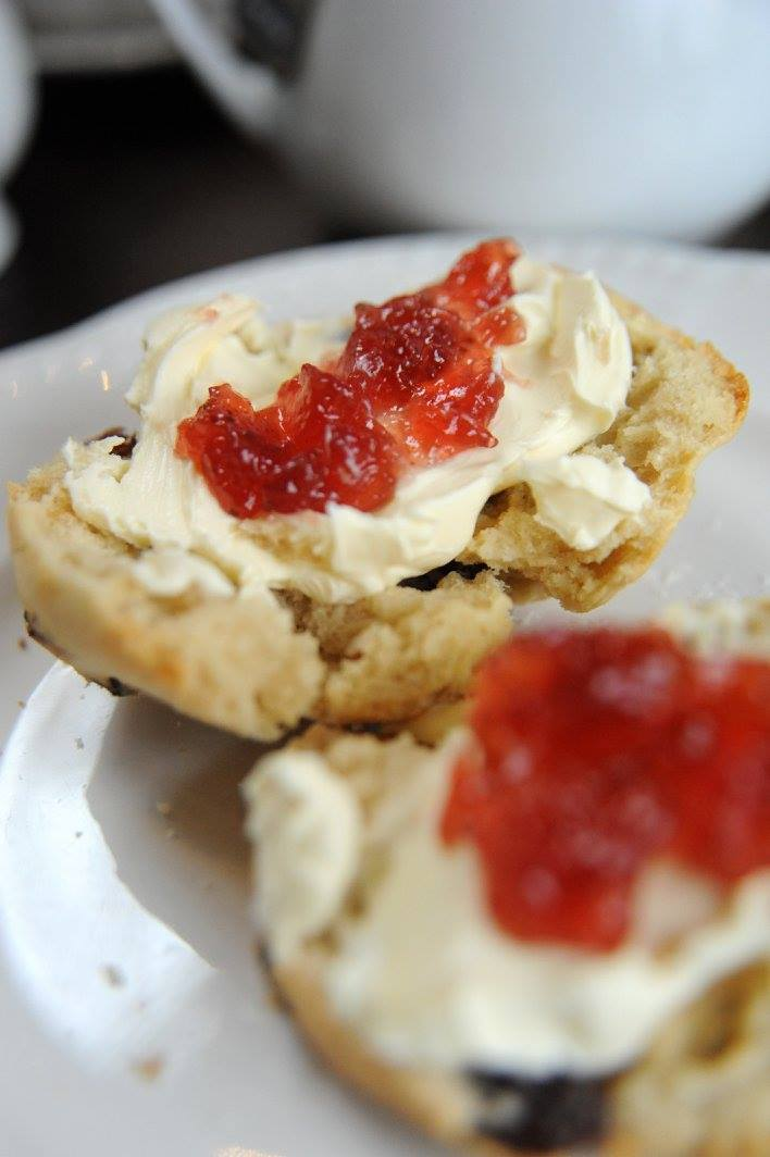 The Mount Hotel Afternoon Tea Freshly Made Scone